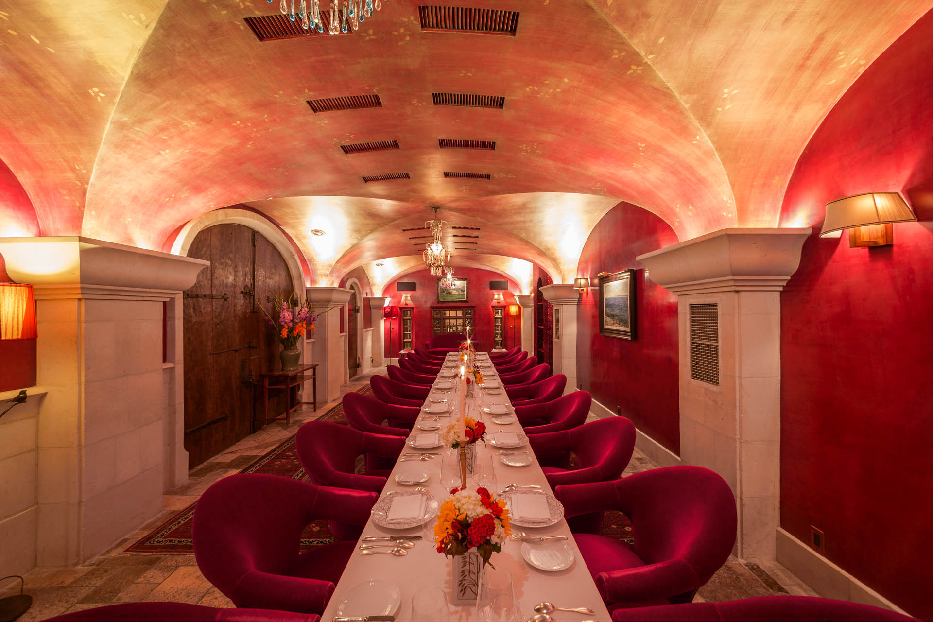 Private dining bouley red room tribeca nyc 10013 for Best restaurants with private dining rooms nyc