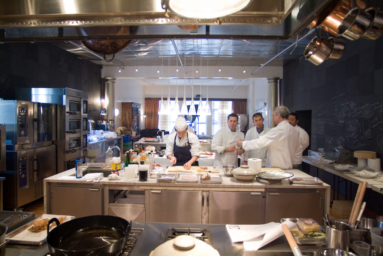Test Kitchen Design test kitchen : portfolio categories : bouley restaurant