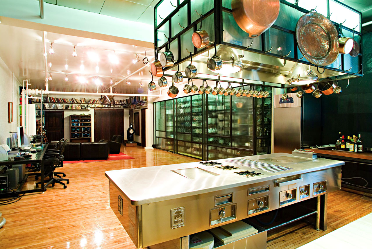 Test Kitchen Design private events nyc | ny private event venue | bouley test kitchen