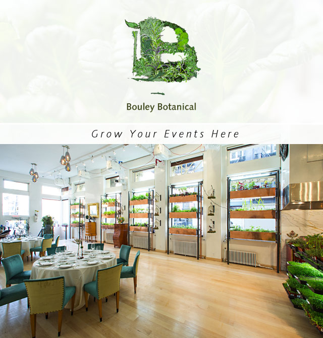Weddings Nyc Private Events Bouley Botanical