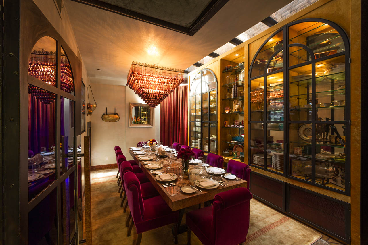 Private Dining Room | Bouley Chef's Pass