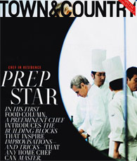 David Bouley, Town & Country Magazine Chef in Residence