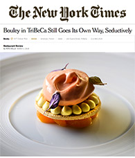 Bouley NY Times Restaurant Review