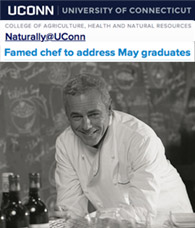 David Bouley to deliver Graduation Address at UCONN CAHNR