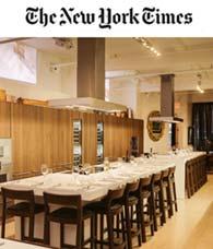 NY TIMES  'In Bouley at Home, a Chef's Total Philosophy Under One Roof'.