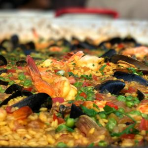 Paella Cooking Class Lunch with 2 Wine Pairing