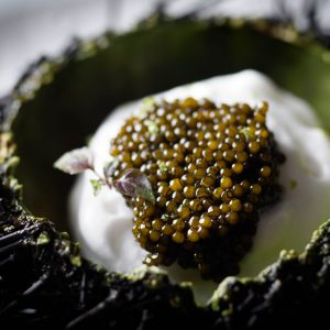 Cooking with Caviar in Bouley at Home